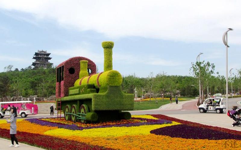 城市广场立体花坛