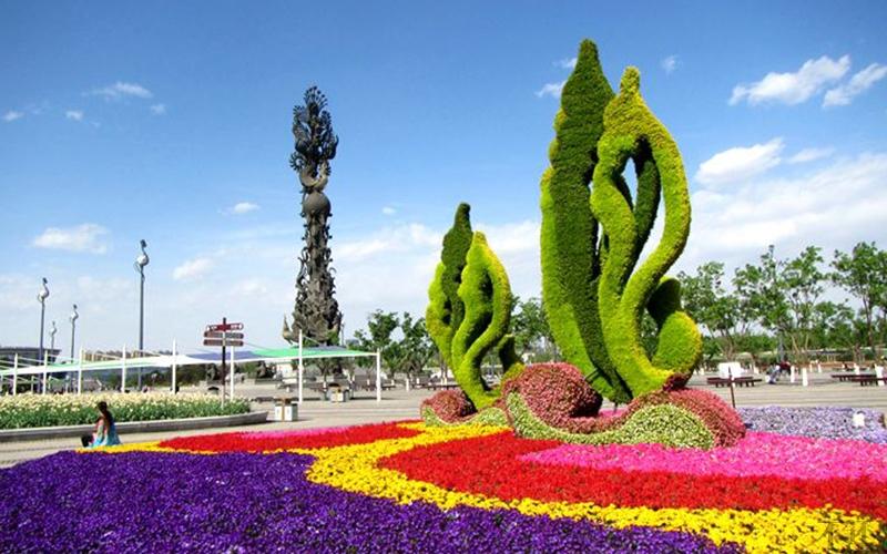 广场立体花坛