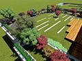 屋顶绿化造型