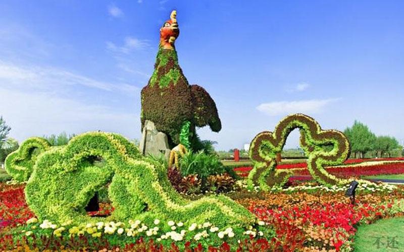 广安五色草造型设计